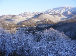 smoky mountains in gatlinburg