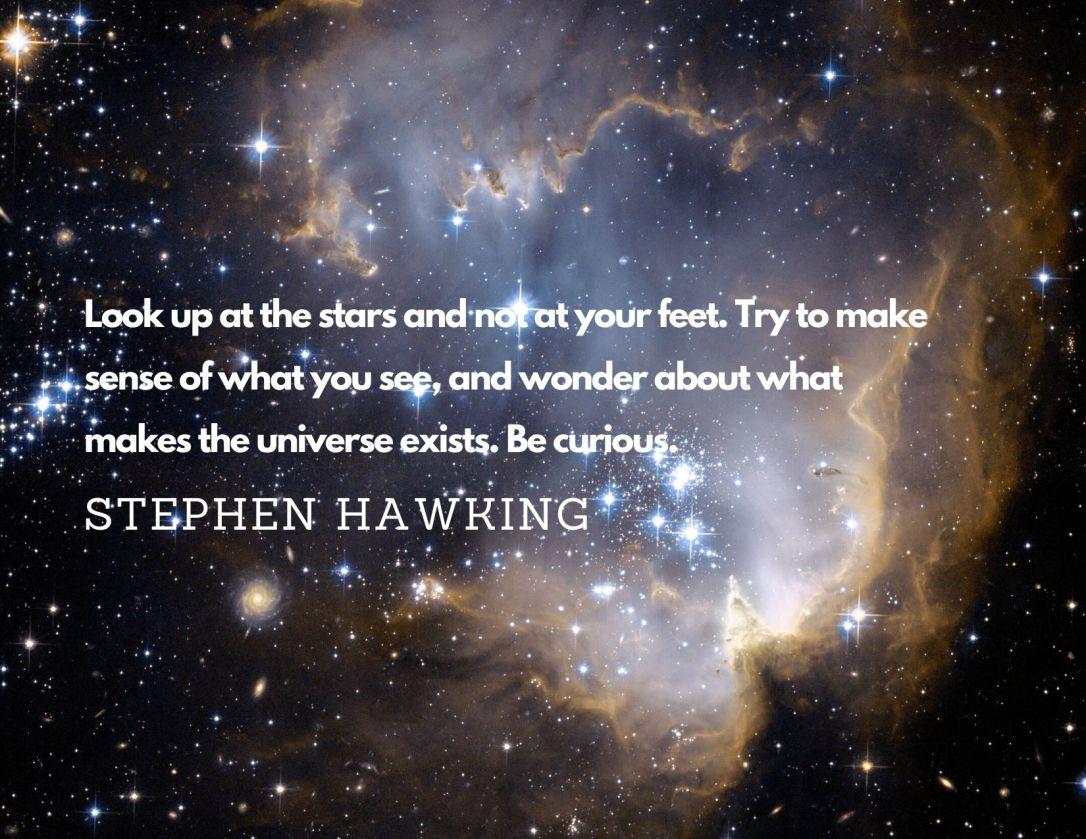 Monday Motivation - Stephen Hawking