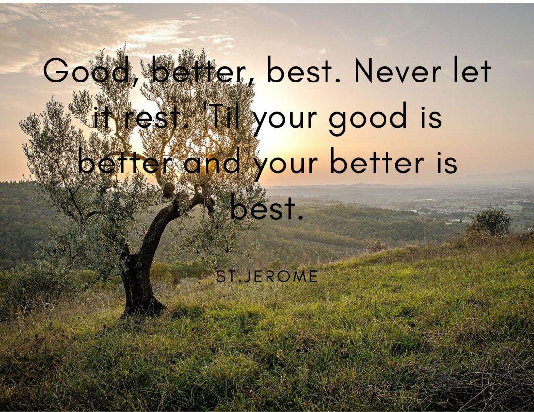 Monday Motivation by St Jerome